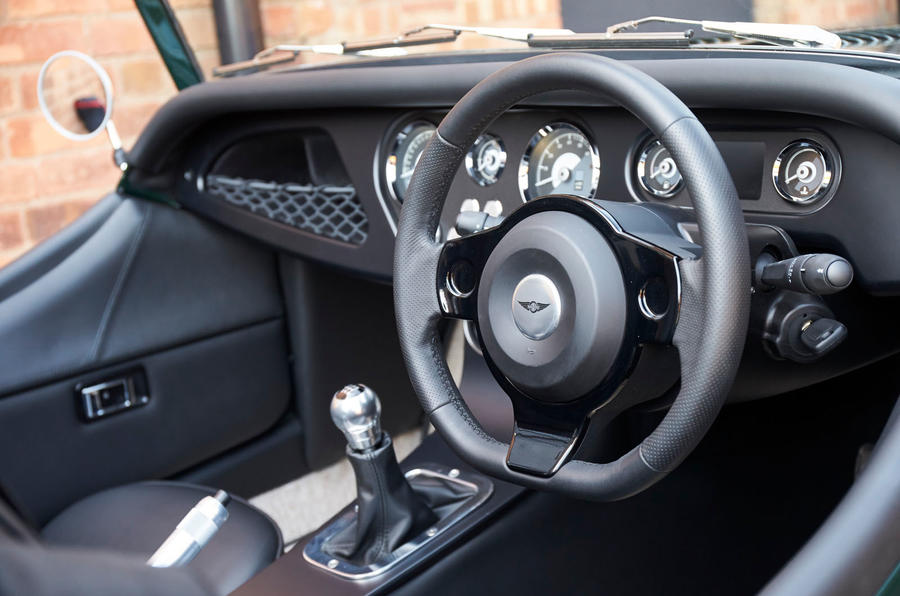 Morgan Plus Four 2020 UK first drive review - dashboard