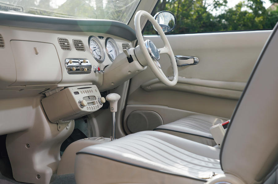 Nissan Figaro - interior