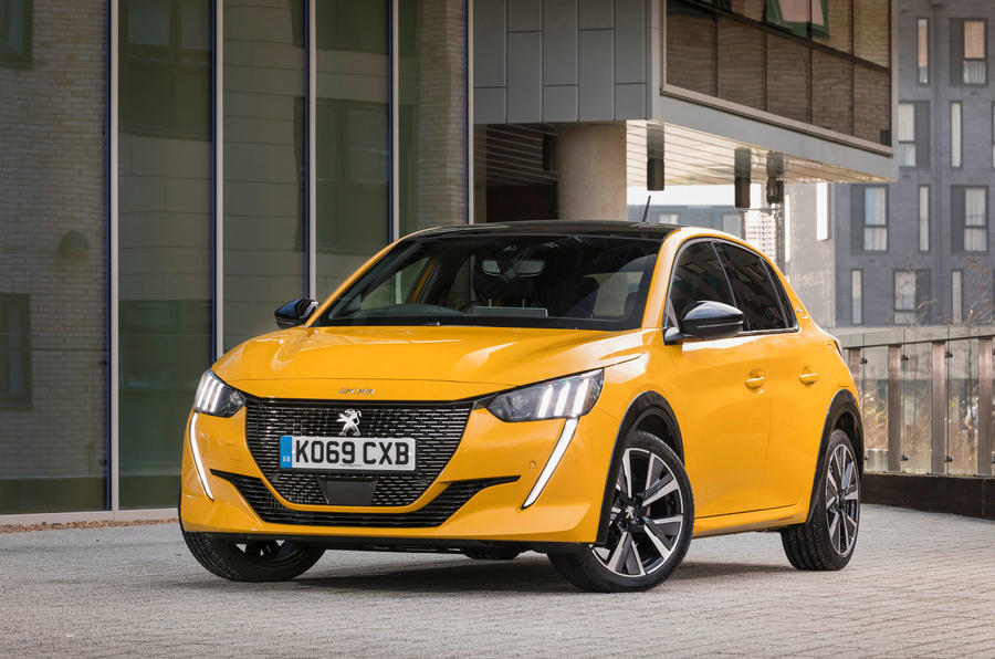 Peugeot 208 GT Line 2020 UK first drive review - static front