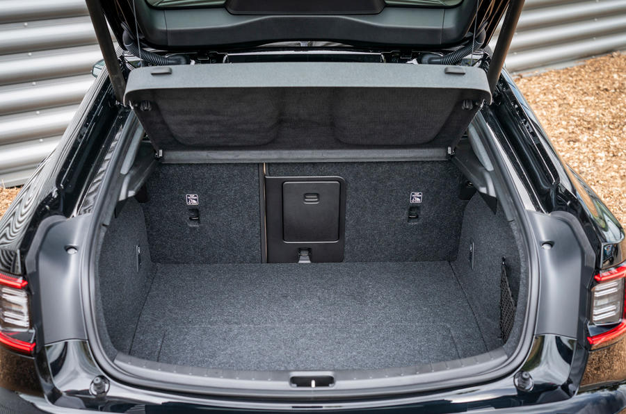 Polestar 2 2020 UK first drive review - boot