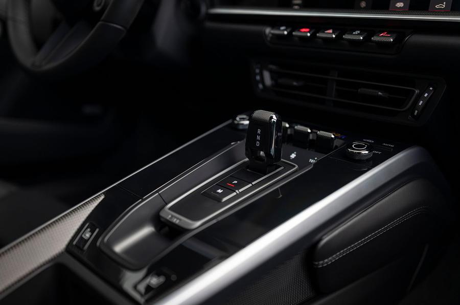 Porsche 911 Turbo S 2020 first drive review - centre console