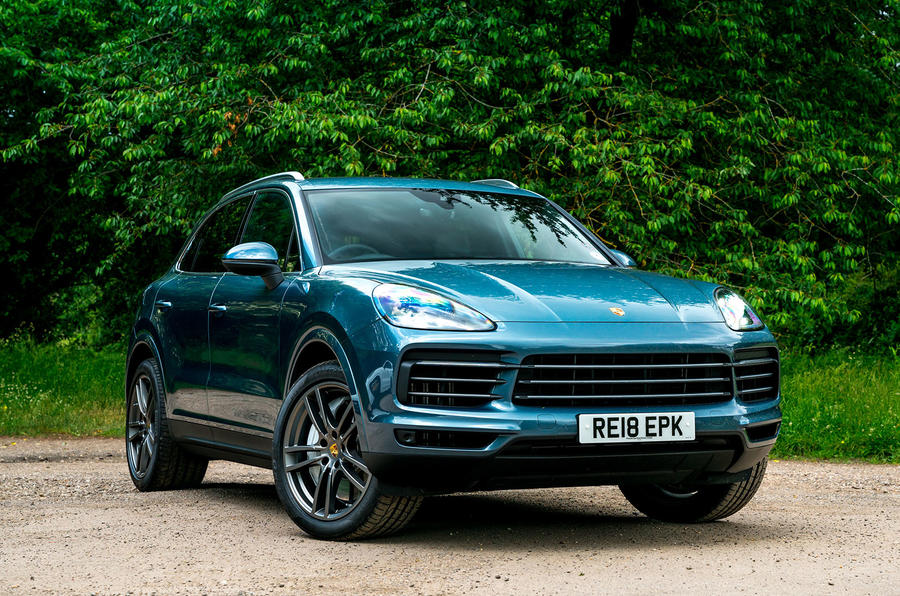 Porsche Cayenne 2018 UK first drive review static front