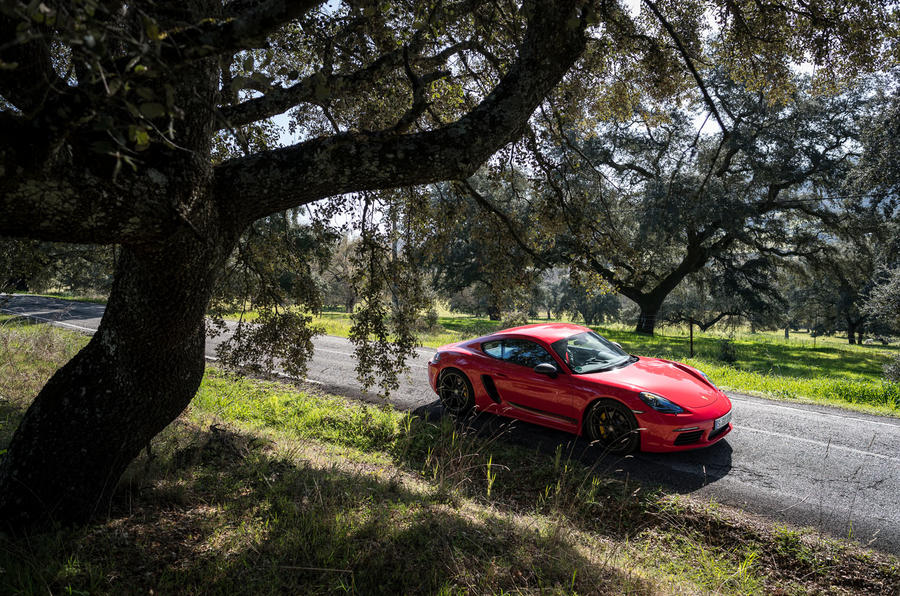 Porsche Cayman T 2019 first drive review - on the road front