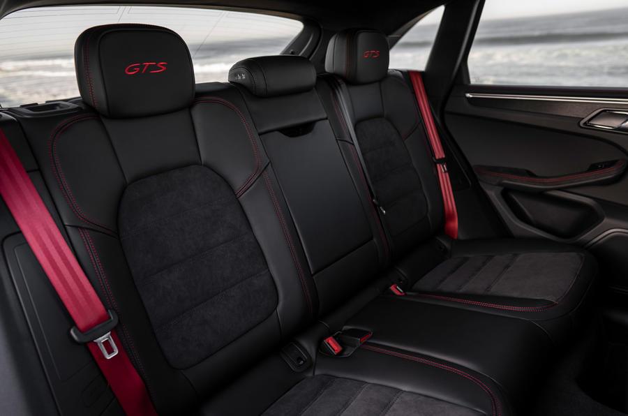 Porsche Macan GTS 2020 first drive review - rear seats
