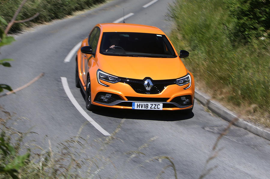 Renault Megane RS 2018 UK first drive on the road