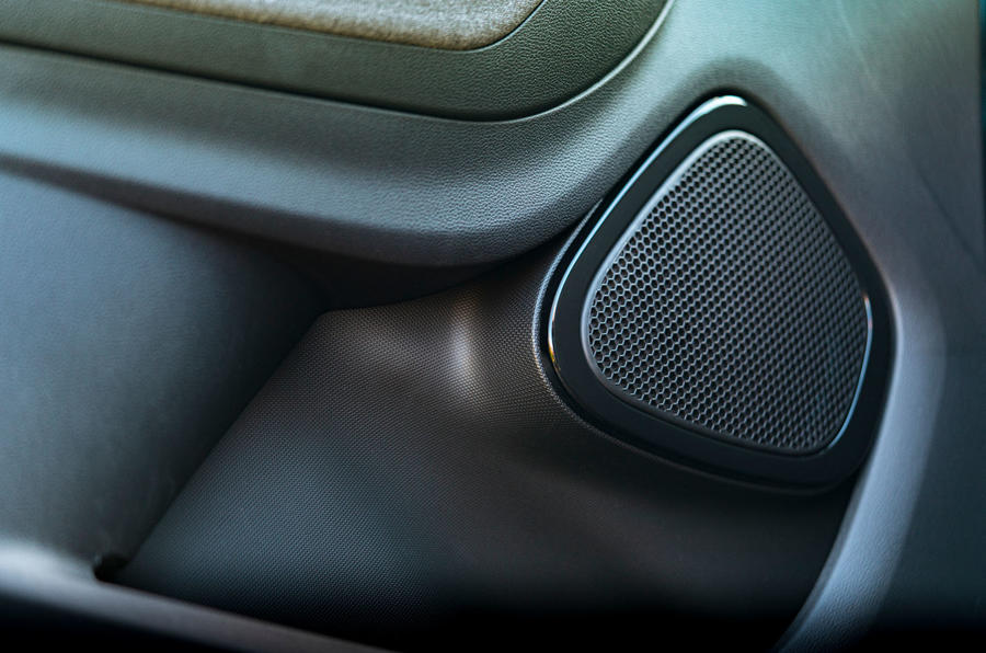Renault Zoe 2020 UK first drive review - speakers