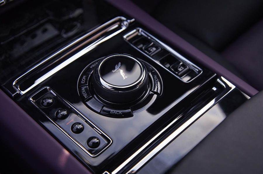 Rolls Royce Ghost physical buttons