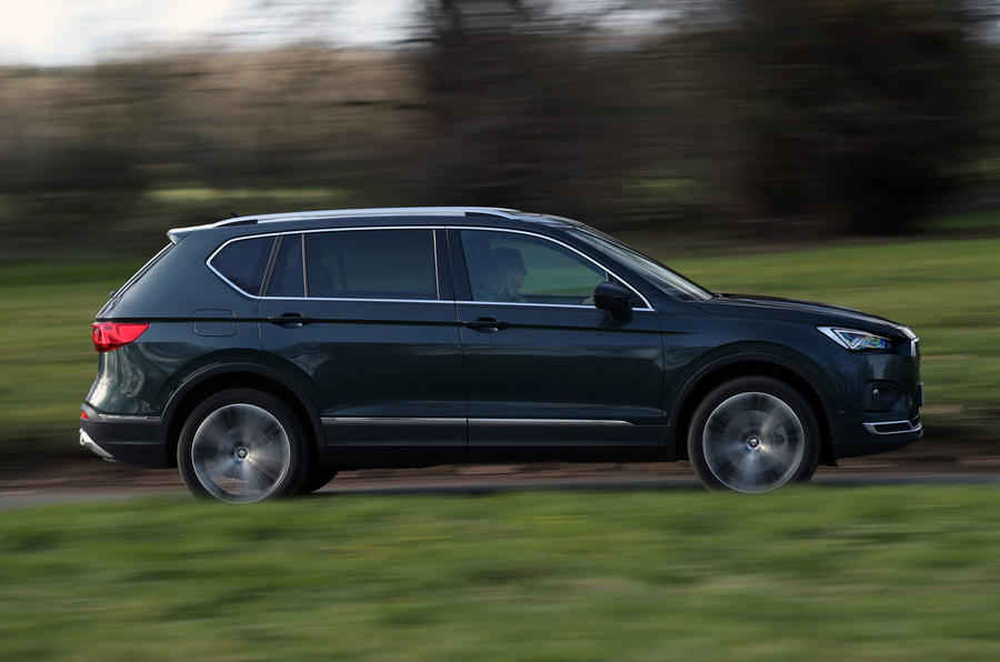 Seat Tarraco 2019 UK first drive review - on the road side