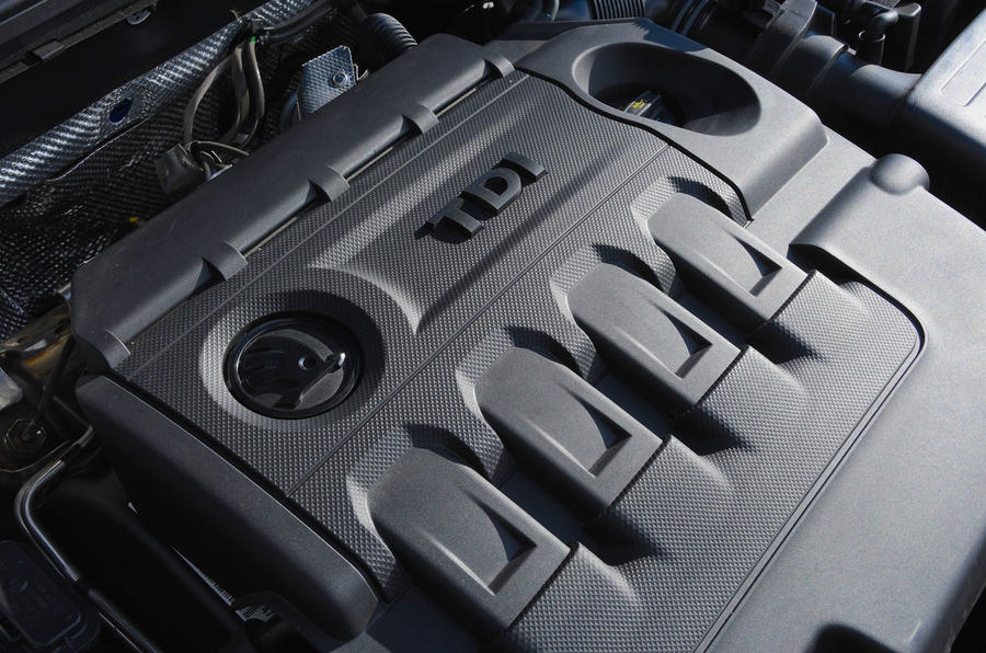 Skoda Octavia vRS diesel longterm review engine cover