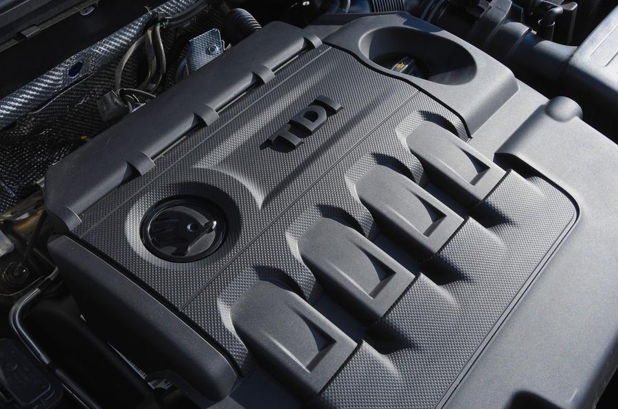 Skoda Octavia vRS diesel longterm review engine cover
