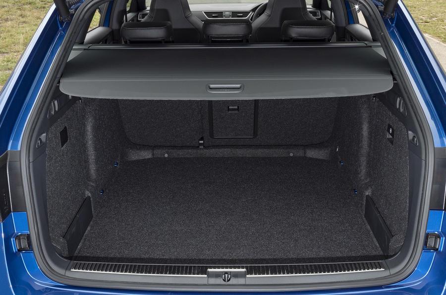 Skoda Superb Estate Sportline 2020 UK first drive review - boot
