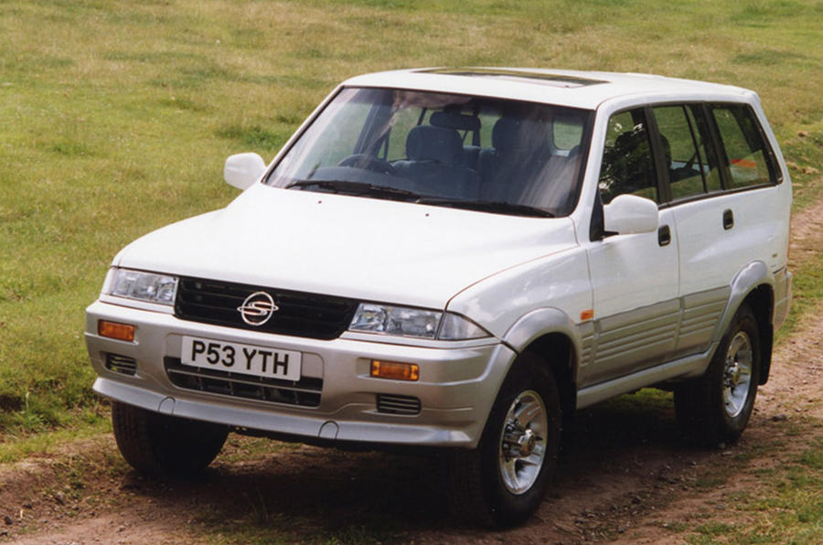 Ssangyong Musso - hero front