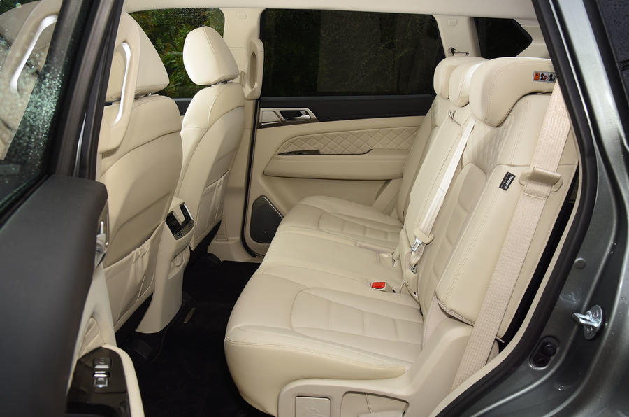 Ssangyong Rexton longterm review rear seats