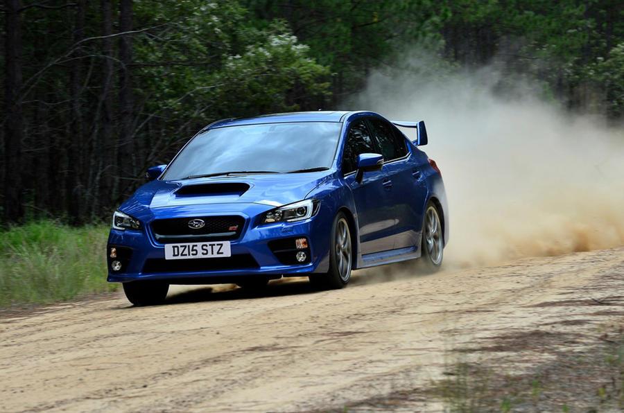 Subaru WRX - hero front