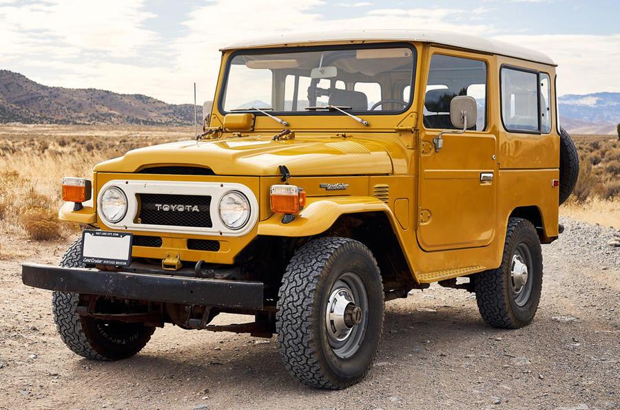 Toyota FJ - old