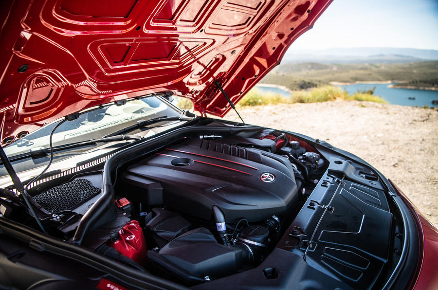 Toyota GR Supra 2019 first drive review - engine