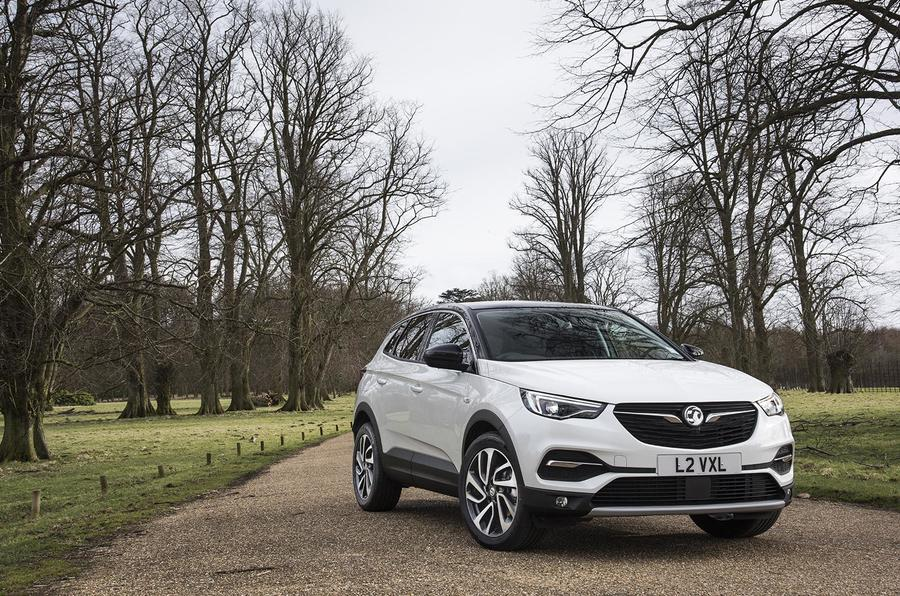 Vauxhall Grandland X Ultimate 2018 UK review static front