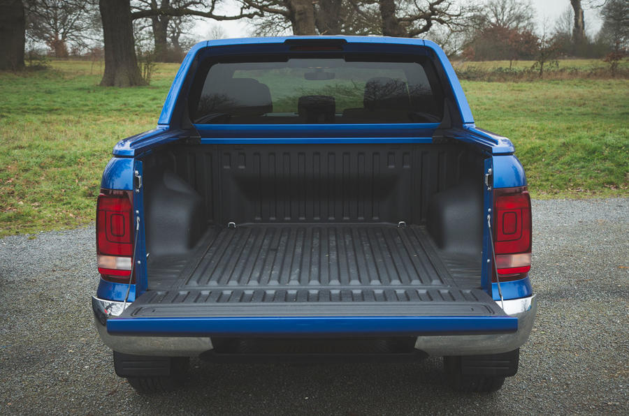 Volkswagen Amarok Aventura 2019 first drive review - truck bed