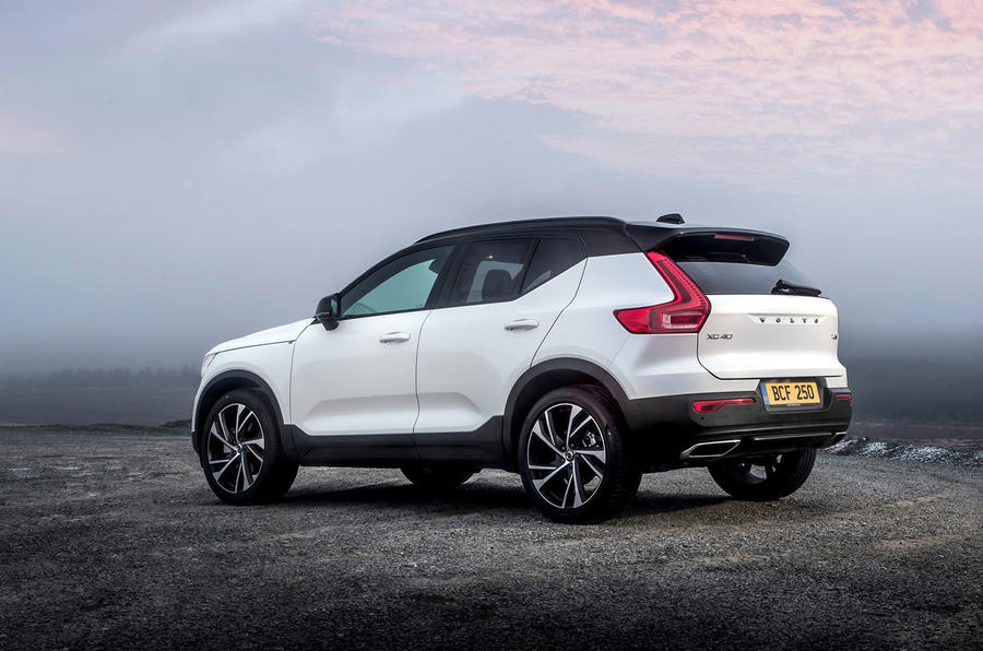 Volvo XC40 T5 2019 UK first drive review - static rear