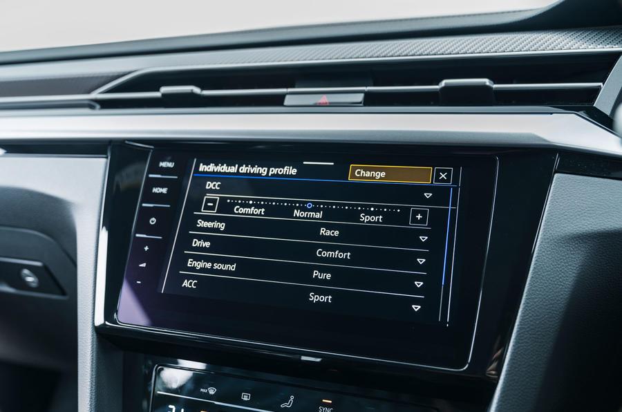 13 VW arteon R Shooting Brake 2021 UE FD infotainment