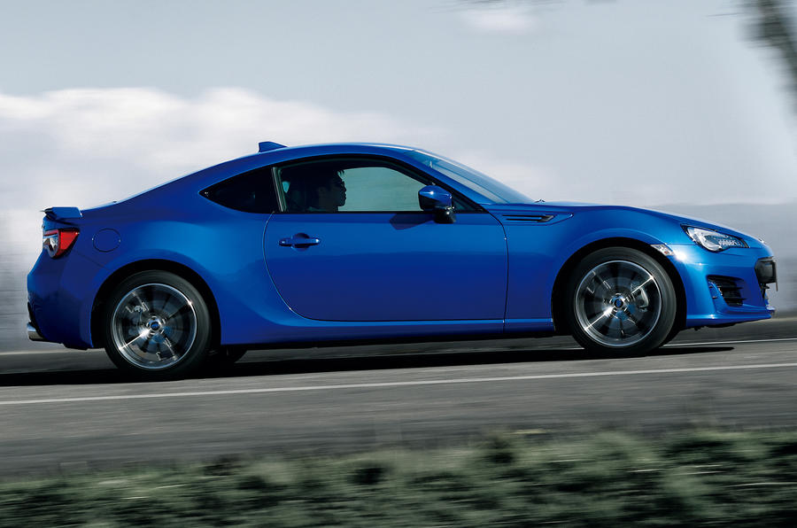 Updated Subaru BRZ makes UK debut at Autosport ...