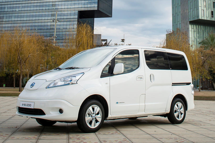 Nissan Introduces New Longer Range e-NV200 With 40 kWh Battery