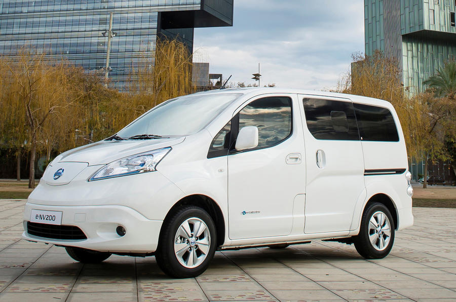 New Nissan e-NV200