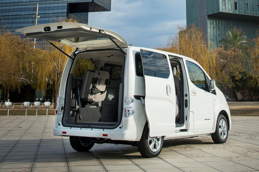 Nissan announces range boost for e-NV200 van