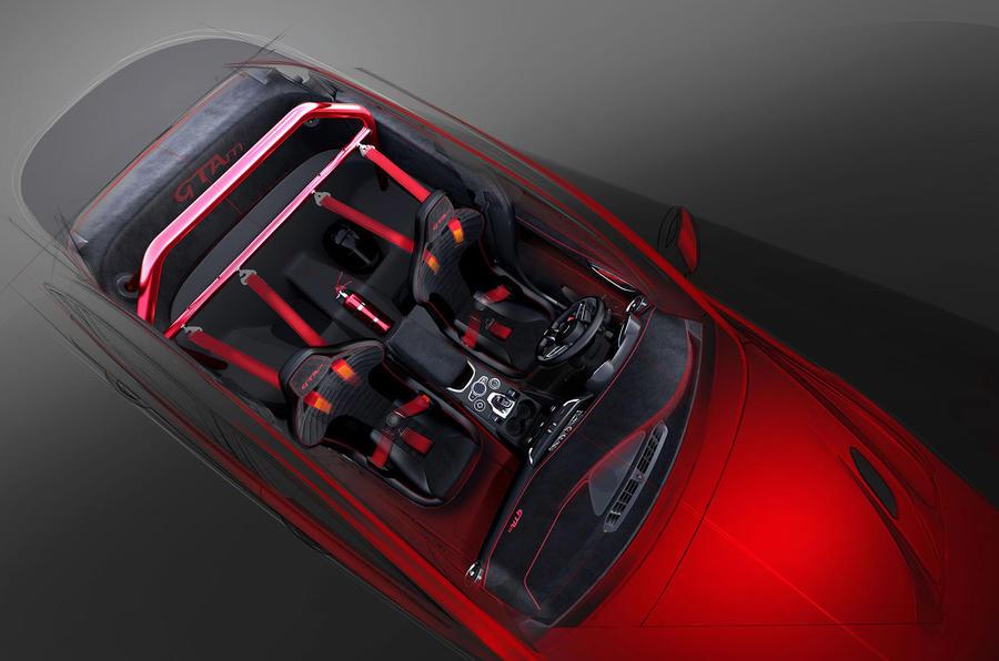 Alfa Romeo Giulia GTA 2020 - interior