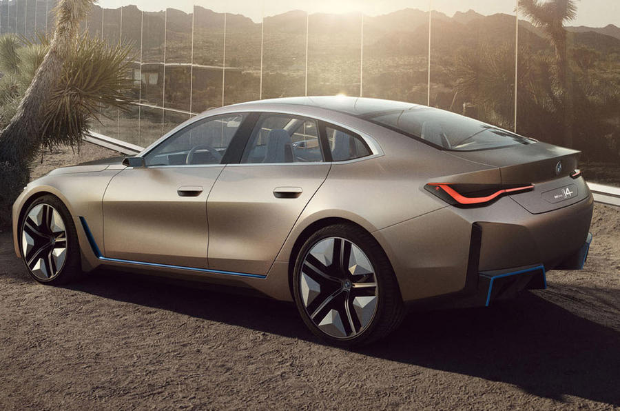 BMW i4 Concept 2020 - stationary side
