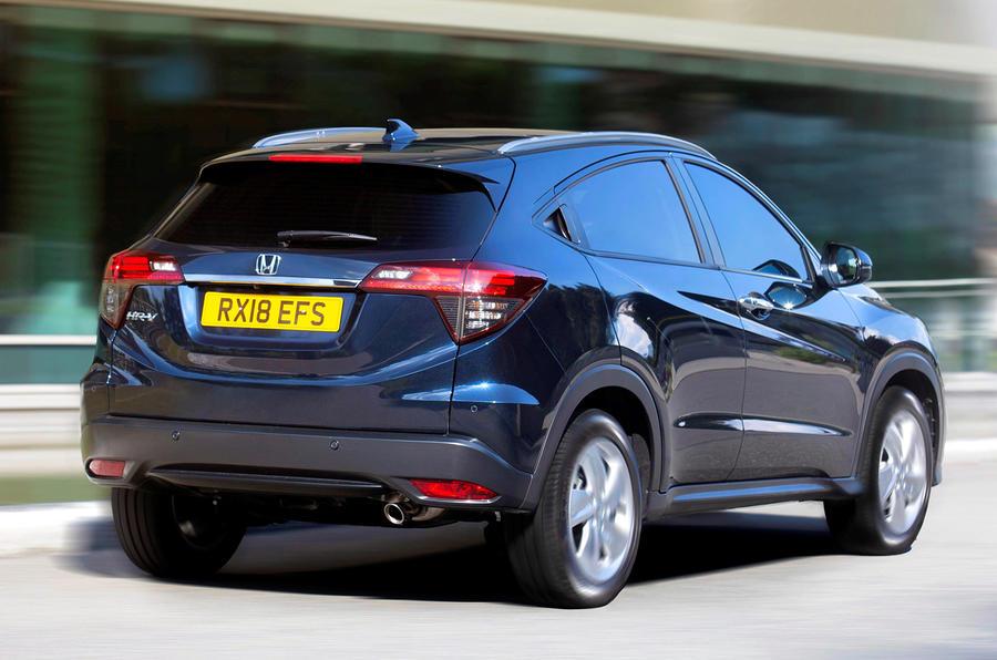 2019 Honda Hr V Gets 180bhp Sport Trim Package Autocar