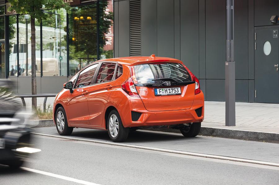 Honda Jazz SE Navi rear