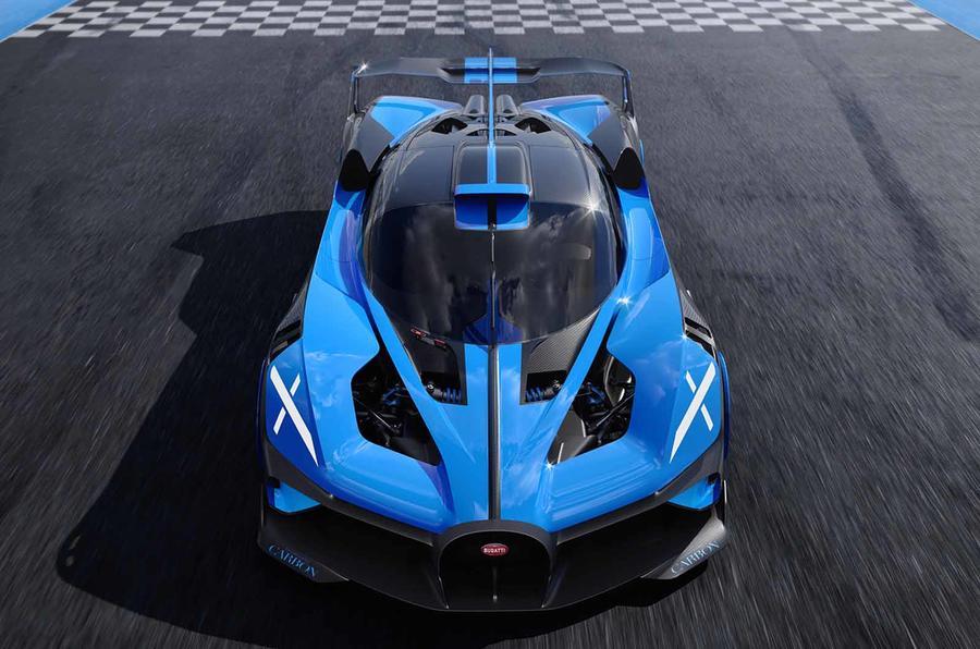 Bugatti Bolide front high