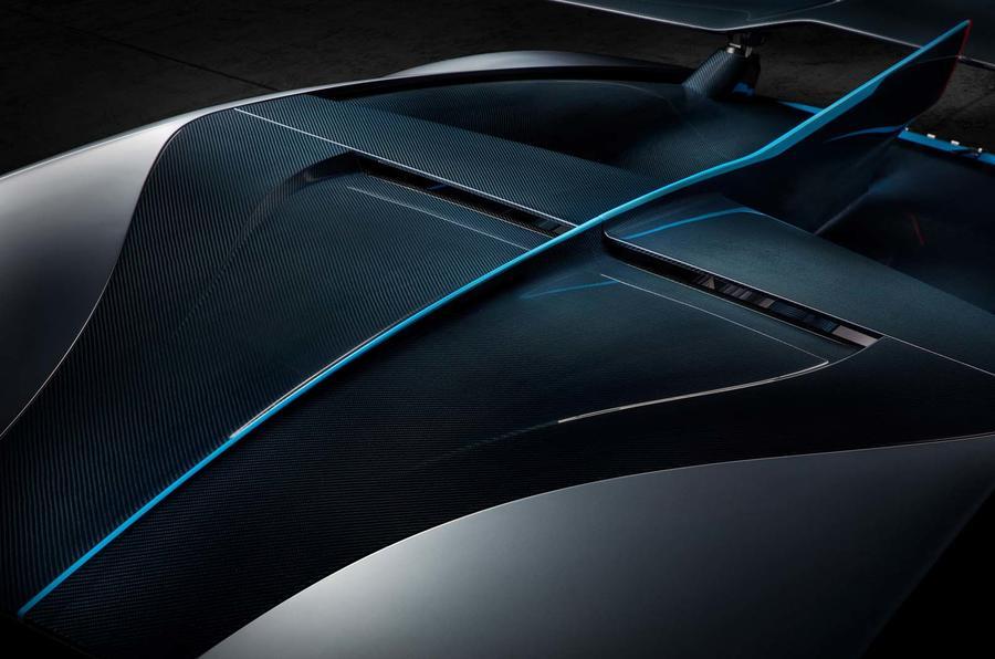 Bugatti Divo NACA duct roof