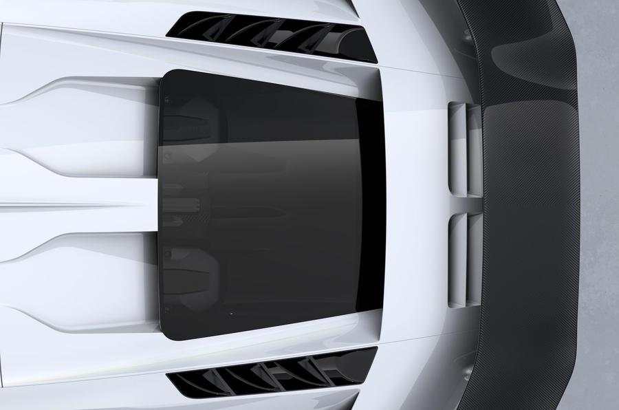 2020 Bugatti Centodieci reveal - naca duct