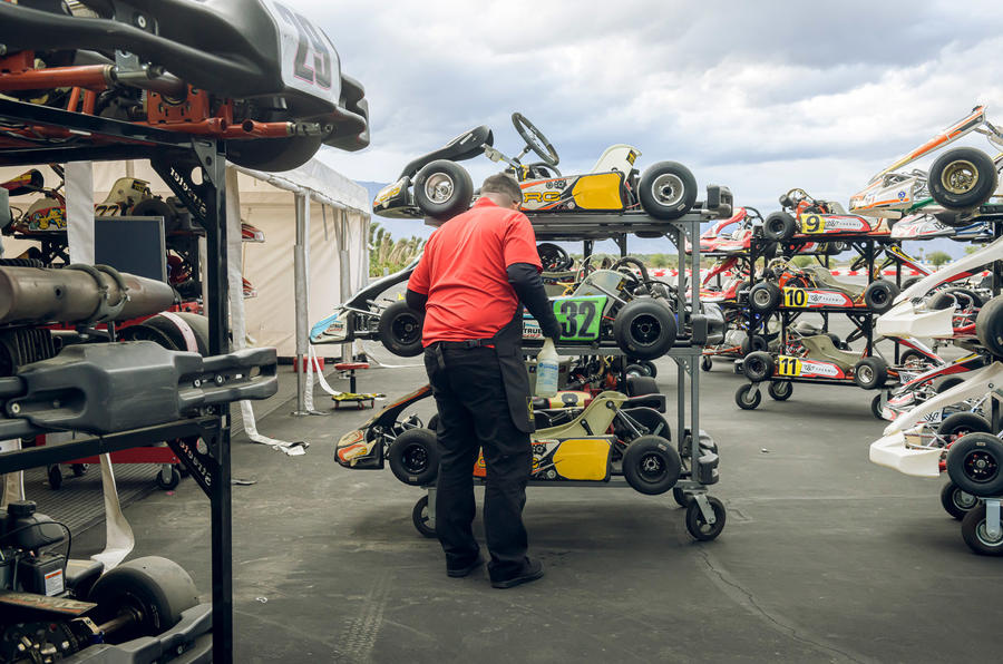 Thermal Raceway 2020 - karts