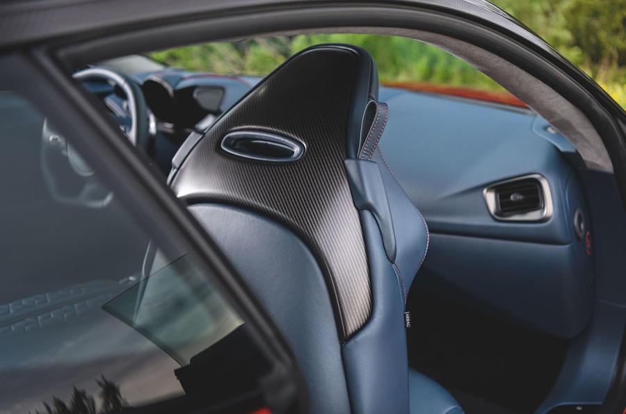 Aston Martin DBS Superleggera 2018 first drive review front seat