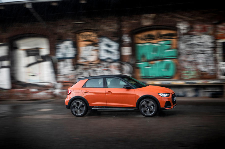 Audi A1 Citycarver 2019 first drive review - on the road side