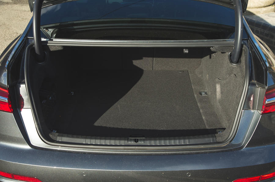 Audi A6 2018 long-term review - boot
