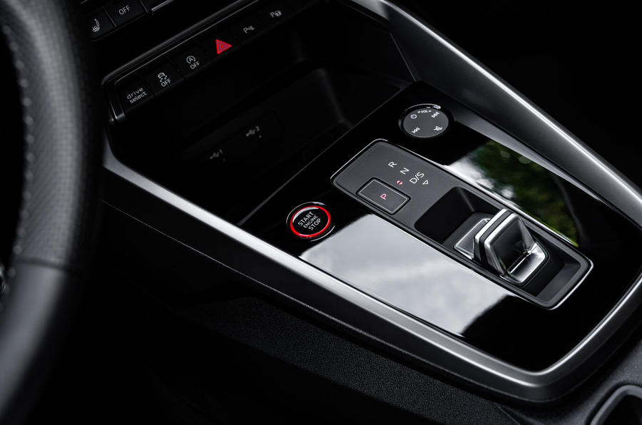 Audi S3 Sportback 2020 first drive review - centre console