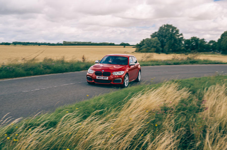 Birds BMW m140i 2020 UK first drive review - on the road front