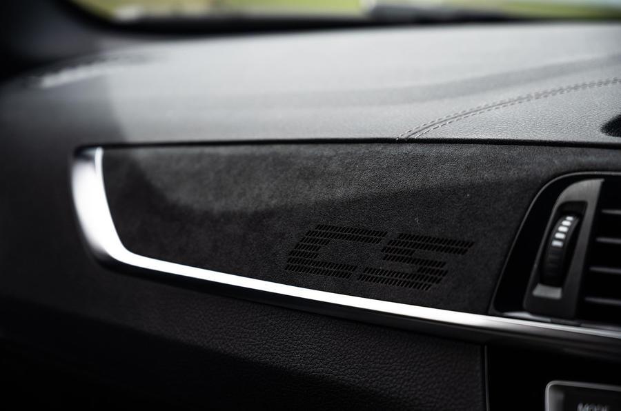 BMW M2 CS 2020 UK first drive review - interior trim