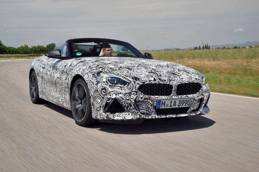 BMW Z4 prototype drive 2018 road Attwood driving