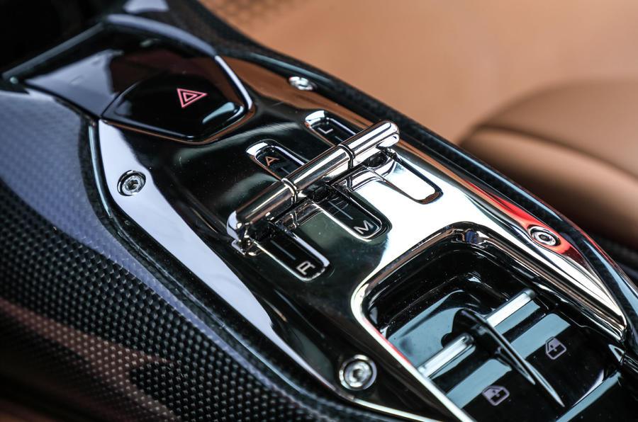 Ferrari SF90 Stradale 2020 first drive review - centre console