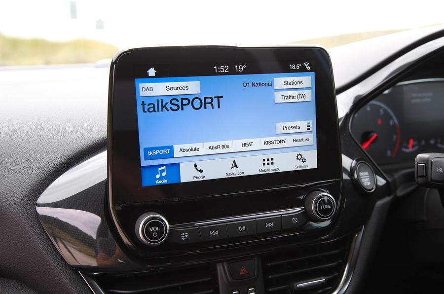 Ford Fiesta ST 2019 long-term review - infotainment