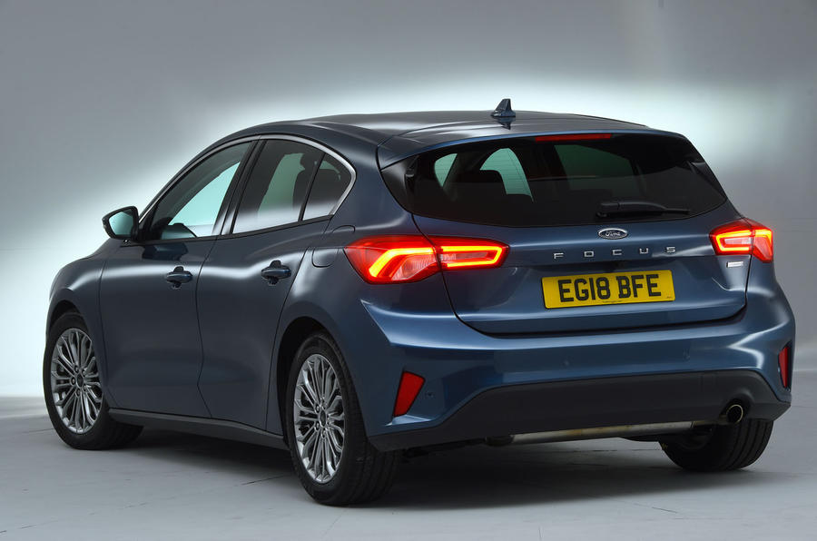 Ford Focus 1.0 Titanium X 2018 UK first drive review static rear