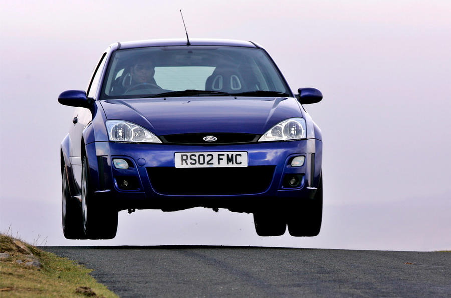 Ford Focus RS Mk1 2002 - front