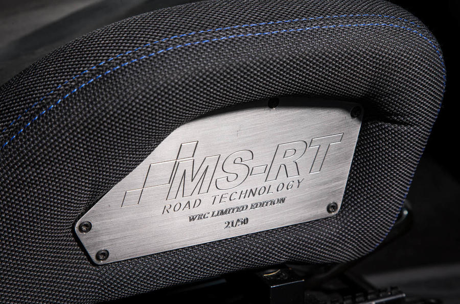 Ford Transit MS-RT custom review plaque