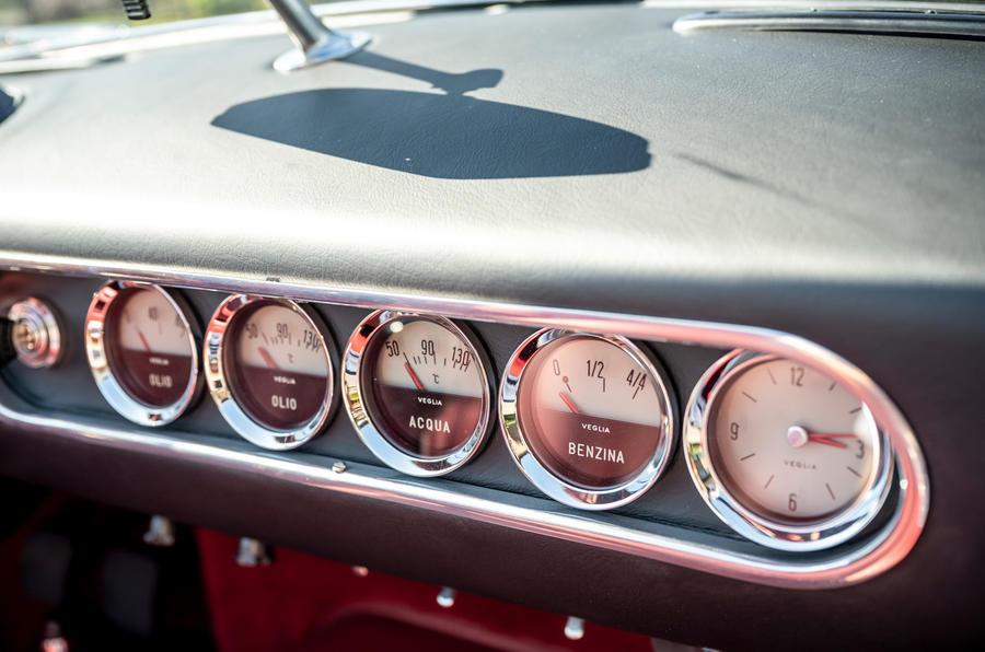 14 GTO California Spyder revival 2021 UE FD cadrans