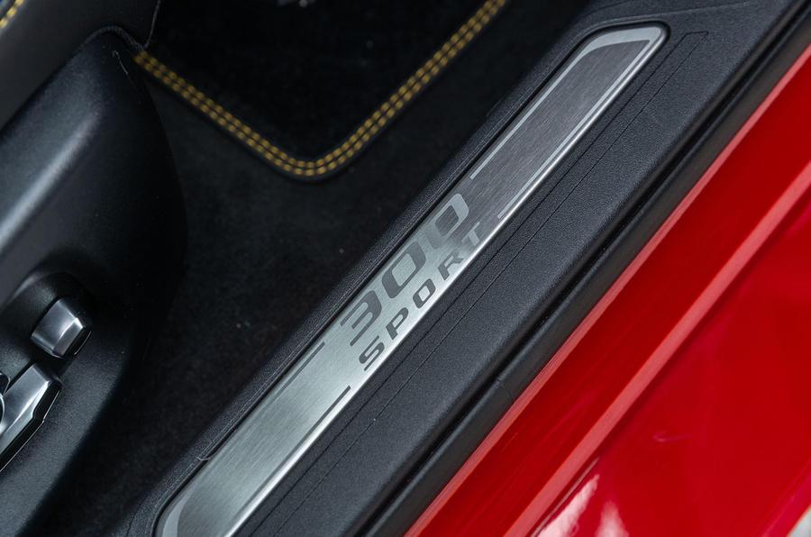 Jaguar XE 300 Sport 2018 UK first drive review scuff plates